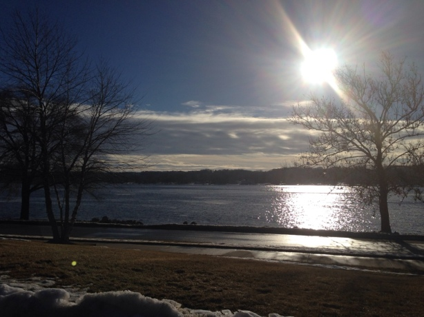 Mississippi River on a Sunny January Morning